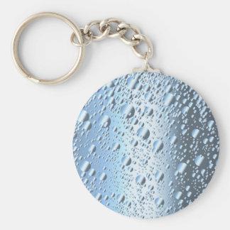 Quicksliver Mercury Bubbles Basic Round Button Keychain