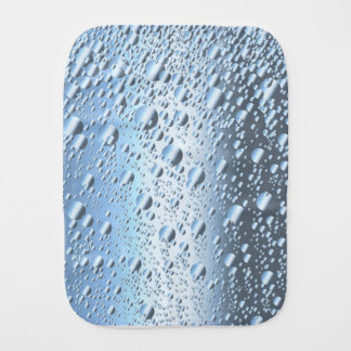 Quicksliver Mercury Bubbles Burp Cloth