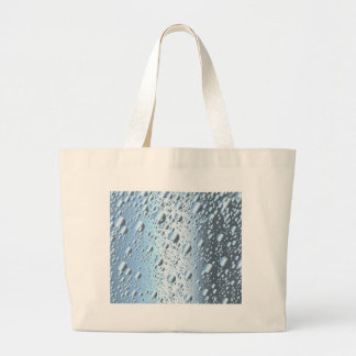 Quicksliver Mercury Bubbles Large Tote Bag