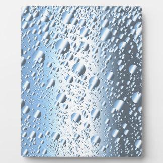 Quicksliver Mercury Bubbles Plaque