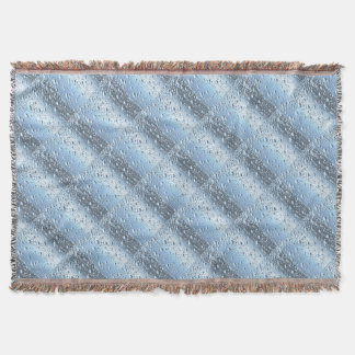 Quicksliver Mercury Bubbles Throw Blanket