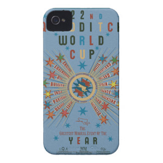 QUIDDITCH™ World Cup Blue iPhone 4 Case
