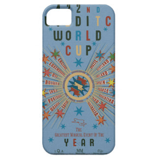 QUIDDITCH™ World Cup Blue iPhone 5 Cover