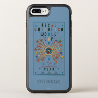 Quidditch World Cup Blue Poster OtterBox Symmetry iPhone 7 Plus Case