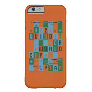 Quidditch World Cup Checkerboard Poster Barely There iPhone 6 Case