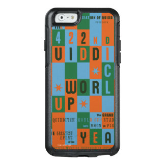 Quidditch World Cup Checkerboard Poster OtterBox iPhone 6/6s Case