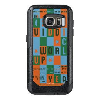 Quidditch World Cup Checkerboard Poster OtterBox Samsung Galaxy S7 Case