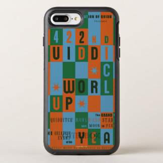 Quidditch World Cup Checkerboard Poster OtterBox Symmetry iPhone 7 Plus Case