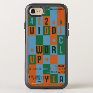 QUIDDITCH™ World Cup Checkerboard Poster OtterBox Symmetry iPhone 8/7 Case