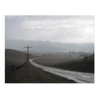 Quien Sabe Road Postcard