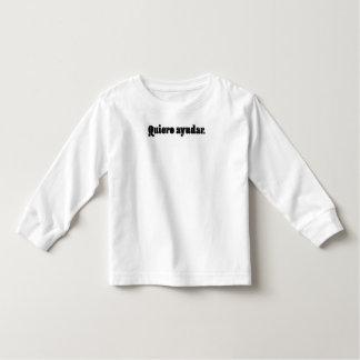 Quiero Ayudar. Toddler T-shirt