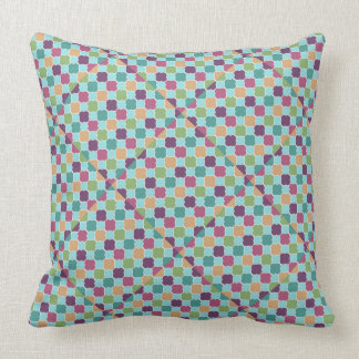 Quiet Afternoon Blue Throw Pillow