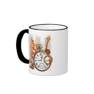 Quiet as a Clockwork Mouse... Ringer Coffee Mug