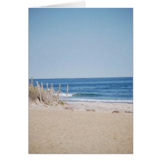 Quiet Beach Card