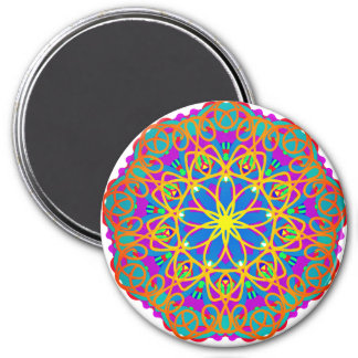 Quiet Brilliance Mandala Style Magnet