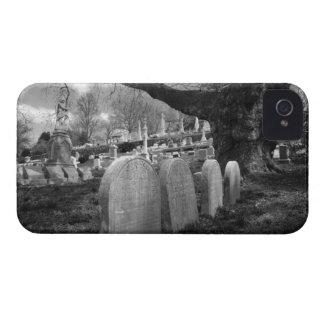 quiet cemetery iPhone 4 Case-Mate cases