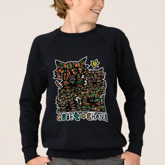 """""""Quiet Change"""" Boy's American Apparel Sweatshirt"""