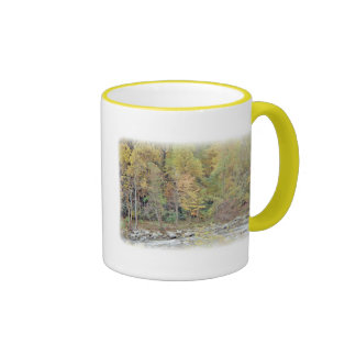 Quiet Getaway At The Creek Ringer Mug
