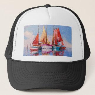 Quiet Harbor Trucker Hat