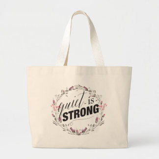 Quiet Is Strong - Feminine - Tote Bag