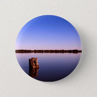 Quiet Lake 2 Inch Round Button