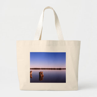Quiet Lake Large Tote Bag