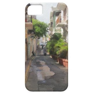 Quiet Little Street of Puerto Rico iPhone 5 Covers