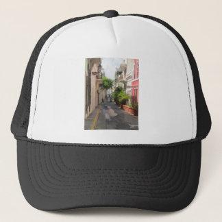 Quiet Little Street of Puerto Rico Trucker Hat