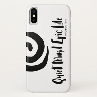 Quiet Mind Epic Life iPhone Case 2