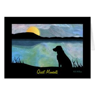 Quiet Moments Card