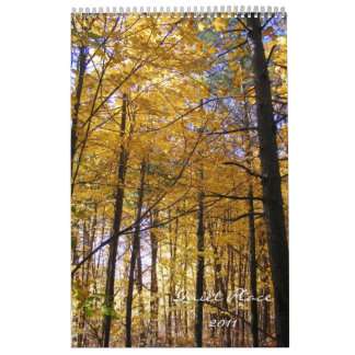 Quiet Place 2011 Wall Calendars