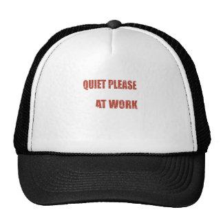 Quiet Please Blacksmith At Work Great Gift Trucker Hat
