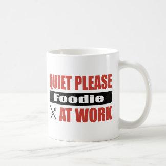 Quiet Please Foodie At Work Coffee Mug