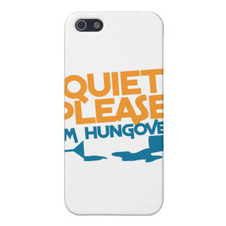 Quiet Please ... I'm hungover Cases For iPhone 5