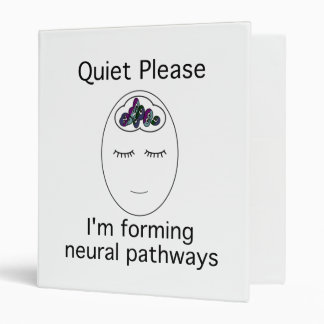 Quiet Please Neural Pathways Binder