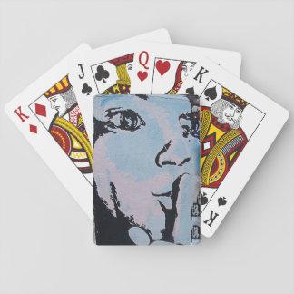 Quiet Poker Face Poker Deck