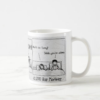 Quiet reading time? coffee mug