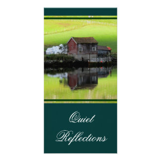 Quiet Reflections Bookmark Custom Photo Card