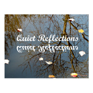 Quiet Reflections Postcard