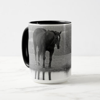 Quiet Reflectionz ~ Horse Mug