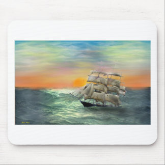 Quiet Seas Mouse Pad