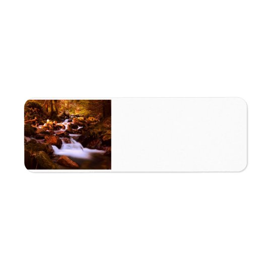 Quiet Stream Return Address Label