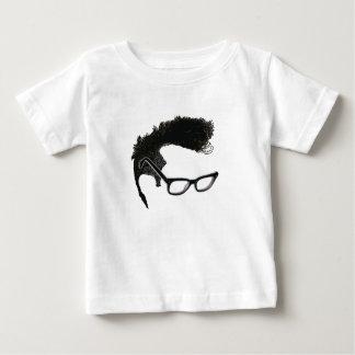 Quiff + Specs = Indefatigable Genius Baby T-Shirt