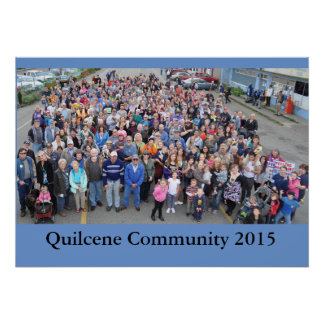 Quilcene Community 2015 Poster