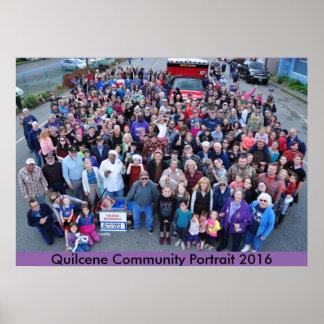 Quilcene Community Portrait 2016 Poster