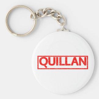 Quillan Stamp Keychain