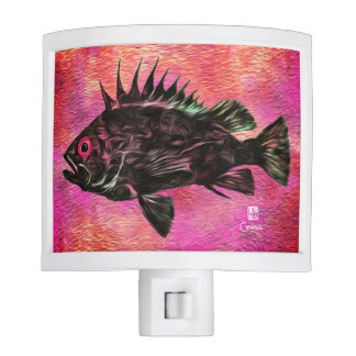 Quillback Rockfish On Pink - Night Light