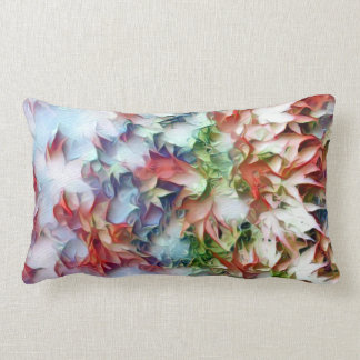 Quilling Leaves Lumbar Pillow