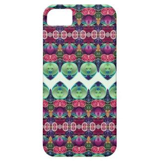 Quilling Mint Green & Mauve Plum fine detail iPhone 5 Cover