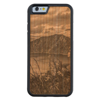 Quilotoa Lake Latacunga Ecuador Carved Cherry iPhone 6 Bumper Case
